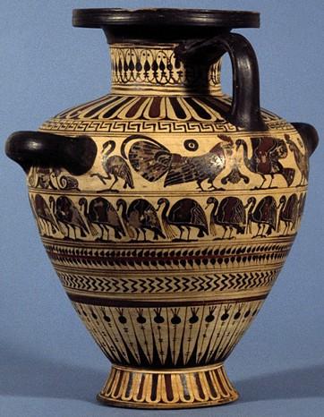 Il pollo nell 39 antica grecia for Vasi antica grecia