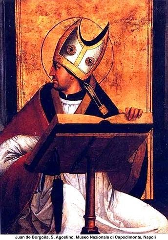 Juan de Borgoña - Sant'Aoostino