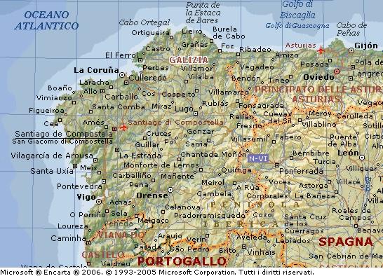 Cartina Della Spagna Geografica.Galizia Regno Di Galizia E Lodomeria