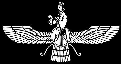 Faravahar  spirito guardiano  uno dei simboli principali dello    Zarathustra Symbol