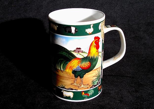 Coppa inglese con due galli diversi oggettistica del gallo - Parole con due significati diversi ...
